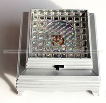 1PC 3D Crystal Glass Trophy Laser LED Battery Operated Light Stand Base Display SMB 40315303