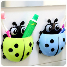 1 pc Lovely Animal Toothbrush Wall Suction  Bathroom Sets Cartoon Sucker Toothbrush Holders  Suction Hooks
