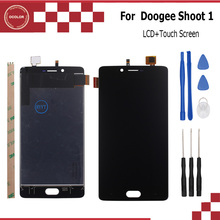 ocolor 1920X1080 FHD For DOOGEE Shoot 1 LCD Display+Touch Screen 100% Original Quality Assembly Repair Part 5.5 inch+Tools+Tape(China)