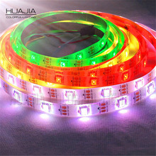 5M Ws2812b RGB LED Strip Light 150pixels 16.4ft Flex Individually Addressable Dream Color Waterproof Ip65 Black White PCB(Hong Kong)