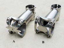 Titanium TC4 Bicycle Stem 25.4mm / 31.8mm x 80mm / 90mm / 100mm High Quality Light for Road Bike & Moutain Bike