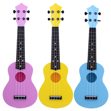 "Professional 21"" Acoustic Ukulele Kids Musical Instrument Toy High Quality Educational Toy Ukulele Baby Kids Playing Musical Toy"