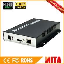 HD H.265 4K hdmi iptv streaming encoder for IP stream to VLC Media Server Xtream Codes(China)