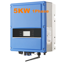 EASUN POWER 5000W On Grid inverter Grid Tie Inverter MPPT 1 Phase High Frequency Inverter 220VAC 50/60HZ Pure Sine Wave Inverter(China)