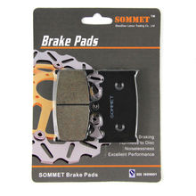 SOMMET Motorcycle Front Brake Pads Disks 1 pair for Kawasaki ZZR 1200 (ZX 1200 C) (02-05) ZZR1200 ZX1200  LT158