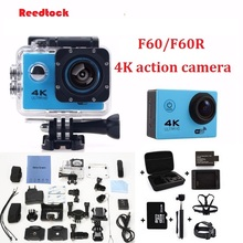 "4K Action camera F60 / F60R Allwinner V3 4K 30fps 1080p 60fps WiFi 2.0"" 170D 16MP Helmet Cam waterproof Sports camera"