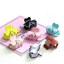 New listed ! flowers Hair Crab Vintage Hair Claws Clamp for Women Flower Hair Ornaments Girl Hairgrip Hair Claw Clip Accessory