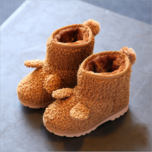kids boots girls boots cute ear toddler girl boots kids warm cotton girls winter boots kids shoes girls shoes