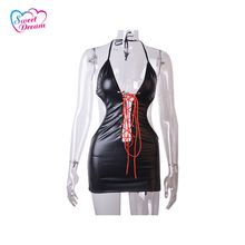 Buy Sweet Dream PU Leather Sex Adult Sexy Bondage Female Straitjacket Sex Products Sex Toys Woman DW-284