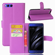 "Buy High Flip Wallet Leather Case Bussness Card Slot Stand Cover Xiaomi Mi 6 (5.15"") Holder Protector Bag Phone Shell for $3.32 in AliExpress store"