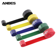 100cm*15mm Nylon Magic Cable Ties Magic PC TV Computer Wire Cable Ties Organizer Maker Holder Management Straps/Tie Magic Tapes