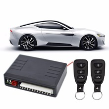 kebidumei Universal Auto Remote Central Kit Door Car Alarm Systems Lock Keyless Entry System Central Locking with Remote Control(China)