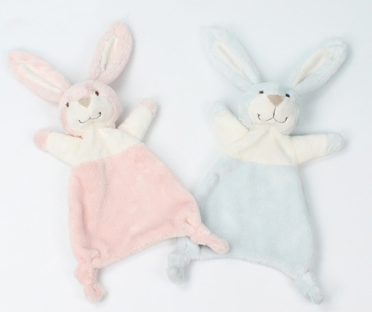 Baby-Comforter-Blanket-Soothing-Towel-Newborn-Security-Blankets-Soft-Plush-Bunny-Rabbit-Doll-Baby-Toys-Handkerchief-0-12-Months-06