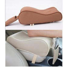5 colors for option AUTO Car Armrests Cover Vehicle Center Console Arm Rest Seat Pad Memory Cotton comforting