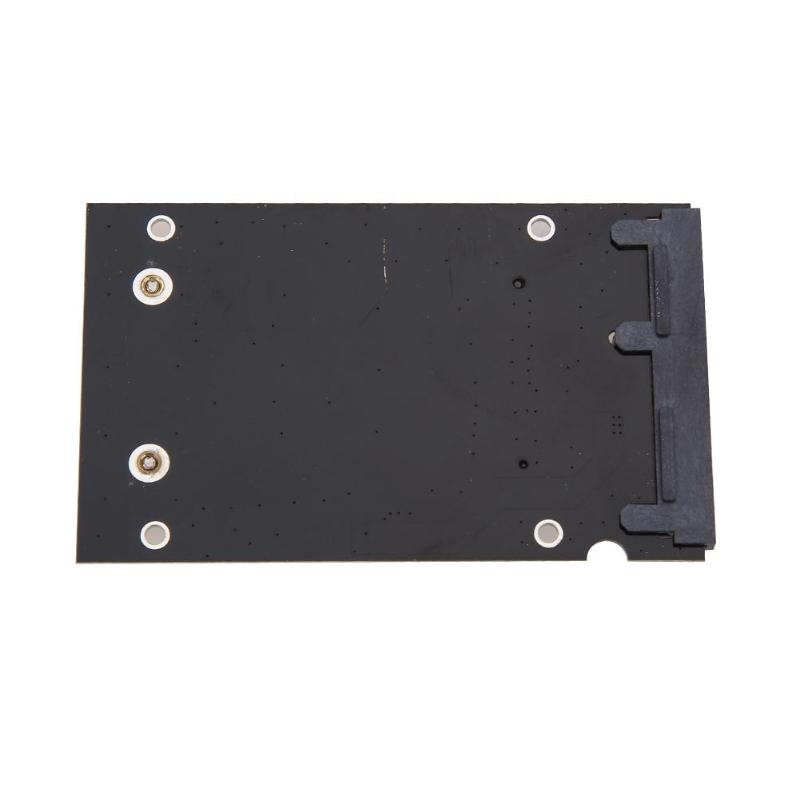 "Enclosure mSATA SSD to 2.5/"" SATA Convertor Adapter Transition Card for Linux Mac"