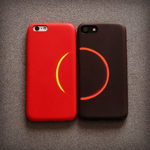 Fashion Discoloration Cheap Cell Phone Cases For iphone 6 6s plus Black case Luxury Soft Couples Cover For iphone 7 7plus Coque