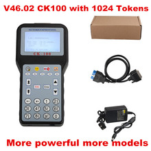 Newest V46.02 CK-100 CK100 Auto Key Programmer with 1024 Tokens CK100 Key Programmer CK 100 Programmer SBB Update Version(China)