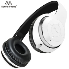 Sound Intone Bluetooth 4.0 Headphones Wireless Headset Stereo Studio with Mic  Earphone Over Ear for Game Computer Cell Phone