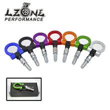 LZONE RACING - European Car Auto Trailer Hook Eye Tow Towing Racing Front Rear Universal Tow Hook JR-THBE61(China)
