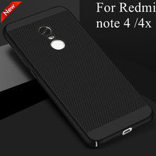 Buy Ultra Thin Luxury pc Heat Dissipation Back Cover Xiaomi Redmi note 4x Case Hard Phone Case xiaomi redmi note 4 Coque for $3.79 in AliExpress store