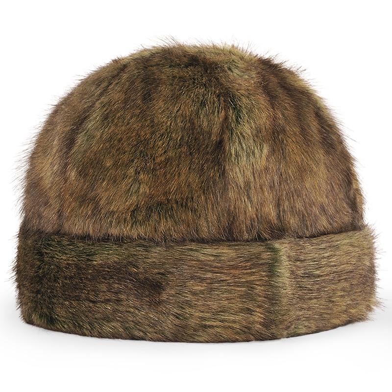 Quinquagenarian hat male winter thickening warm hat ear outdoor cotton cap imitation mink landlord hat cap Одежда и ак�е��уары<br><br><br>Aliexpress
