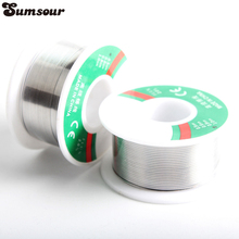 High Quality 2pc 0.8MM 0.5MM 63/37 Tin Lead Solder Wire Rosin Core Soldering 2% Flux Reel Tube Welding Wires Safety