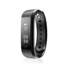 Diggro ID115 Smart Band Bracelet Step Calories Counter Pedometer Calorie Sleep Monitor Vibrating Wrist Connect Android Ios Phone(China)