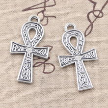 Buy 4pcs Charms egyptian ankh life symbol 38*21mm Antique Making pendant fit,Vintage Tibetan Silver,DIY bracelet necklace for $1.00 in AliExpress store
