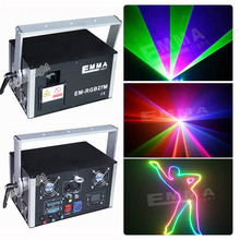 Mini rgb Laser Projector Red Green blue Stage Light Laser Lighting For Disco Party DJ(China)