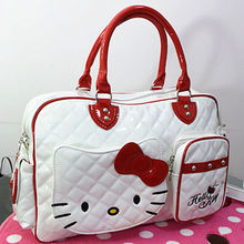 New Hello kitty Large Handbag purse Travel Shopping Tote Bag CC-2089(China)