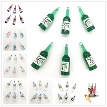 let's start!cute Miniature bottle,resin Wine/sake/water bottles,3D winebottle for holiday keychain and earrings decoration.(China)