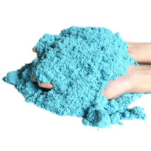 100g/pack fahion 7 colors Magic sand space educational toys colored sand ultra light clay sand playdough toys
