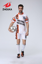 DIY  Sublimation Printing  popular custom original soccer jersey football uniform free shipping