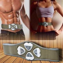 1pc Electronic AB Gymnic Gymnastic Body Building ABS Belt Exercise Toning Toner Waist Muscle body massager New fashion hot sale
