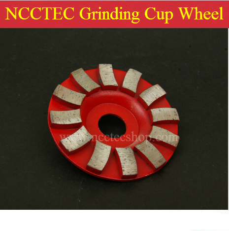 4 Diamond abrasive wheel   100mm Concrete granite stone grinding wheel   thick and high tooth more durable<br>