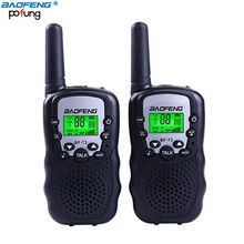 Baofeng T3 Kid Walkie Talkie 22 Channel FRS/GMRS UHF 462.550- 467.7125MHz T-3 Two Way Radio Transceiver Toy for Children & Youth