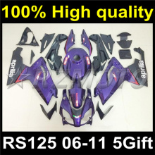 Full Body Plastic Fairing Kit Set For Aprilia RS125 RS 125 2006 2007 2008 2009 2010 2011 06 07 08 09 10 11 Fairing ARS-00