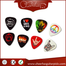 With DHL free shipping Can print yourself names and logo personalized customized guitar pick plectrum 1000pcs