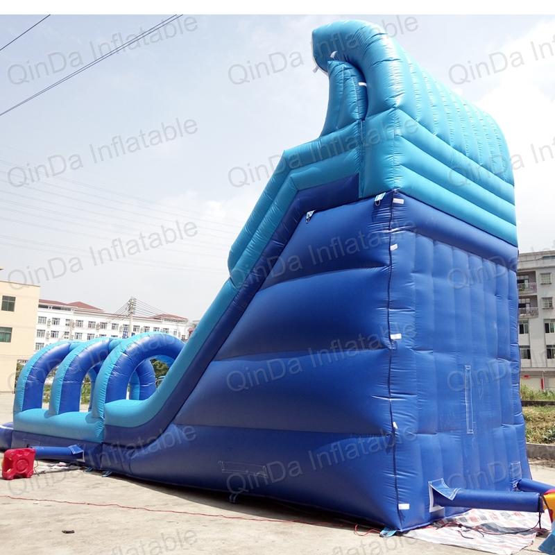 inflatable bouncer slide fun city castle(39)