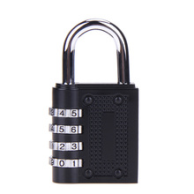 Zinc Alloy Coded Lock 4-Dial Digit Password Suitcase/Luggage Combination Lock Cabinet Lock Privacy Security Lock