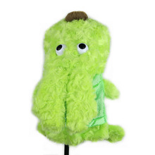 Golf Headcover Plush Cute Cartoon Animal Protection Covers Golf Club Heads Accessories Wholesale