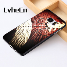 LvheCn phone case cover For Samsung Galaxy S3 S4 S5 mini S6 S7 S8 edge plus Note2 3 4 5 7 8 American Football Fashion(China)