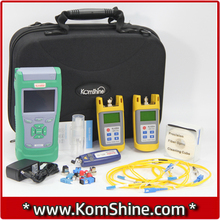 Optical Fiber KomShine KQX-40 Fiber Optic Test Kits with OTDR / Optical Power Meter & Optical Light Source/ VFL