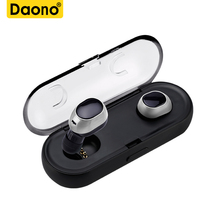 Buy DAONO TWS-16 mini true wireless earbuds bluetooth headphones earphone headset ear charging box xiaomi iPhone 6 7 8 P for $23.52 in AliExpress store