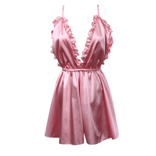 US Stock Womens Sexy Backless Sleepwear Style Rompers Playsuit Trousers(China)