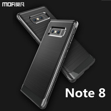 For Samsung note 8 case cover MOFi original Note 8 case for samsung galaxy note 8 back case full cover gray blue for SM-N950F(China)