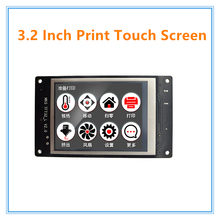 "3.2"" MKS touch screen lcd smart controller support U disk and SD card for 3D printer(China)"