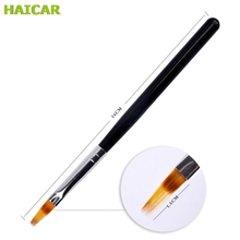 1PC DIY 3D Tips Nail Nylon UV Gel Nail Brush Pen Nail Gereedschap Manicure Dropship U0310