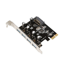 Superspeed 4 Port USB 3.0 PCI Express Card PCIe USB 3.0 Host Controller 4 x USB3.0 with VL805(China)