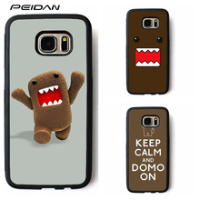 PEIDAN domo kun Protective cover phone case for samsung galaxy S3 S4 S5 S6 S7 S8 S6 edge S7 edge Note 3 Note 4 Note 5 #rr147(China)